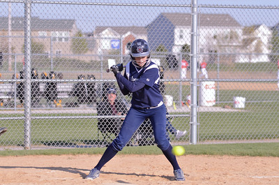 Oswego East girls JV softball 2012
