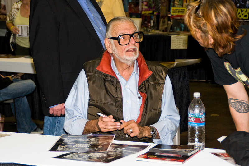 Geroge A. Romero, Fangoria Convention, Los Angeles, 2008