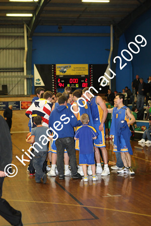 WABL M - Comets Vs Parramatta 8-8-09
