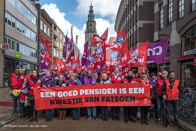 Demonstraties-Pensioendemonstratie 2019