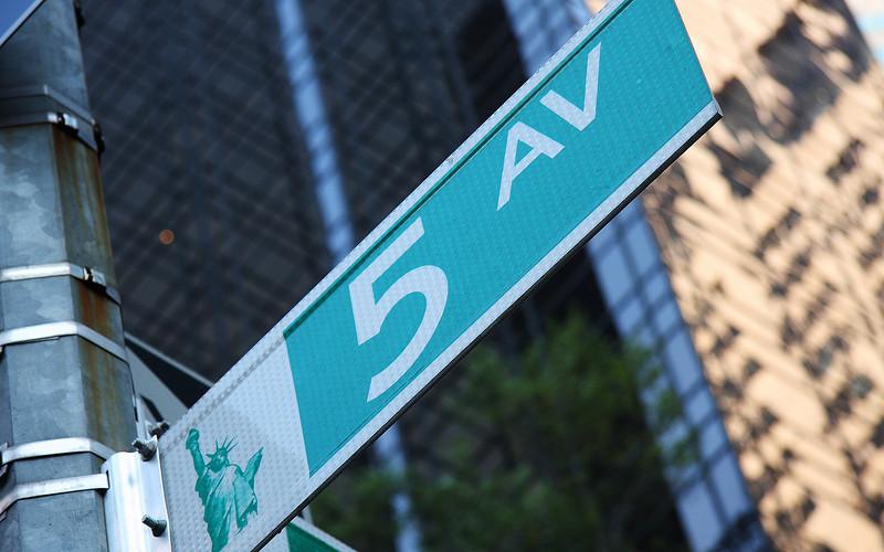 America's High Street: 5th Ave., Manhattan