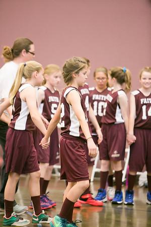 Last 6th Grade B Basketball Game Cornerstone