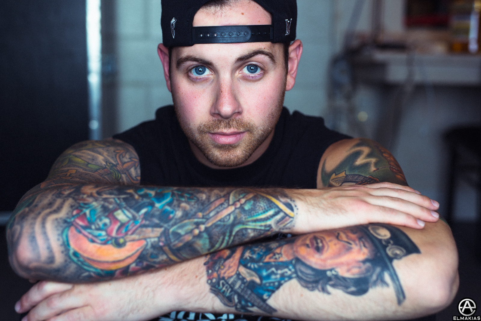 Kevin Skaff of A Day To Remember - Parks and Devastation Tour by Adam Elmakias