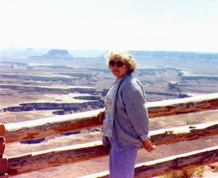 Bonnie @ Canyonlands, 1991, .jpg
