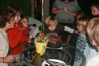 Spencer's 11th Birthday