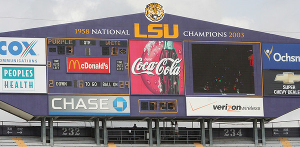 LSU Spring Football Game 2007