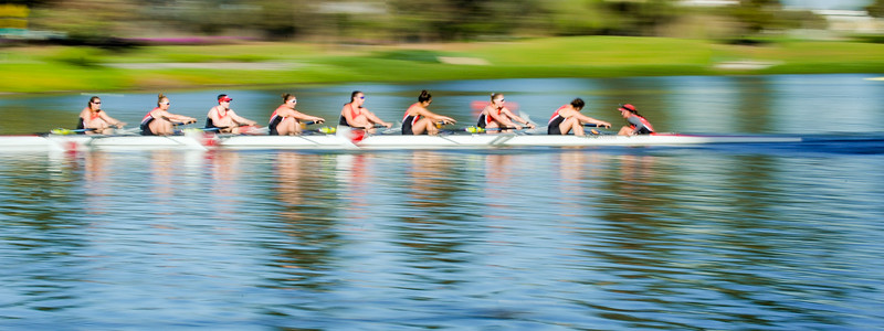 Stanford Women's Rowing at PAC-12 Challenge, 2018