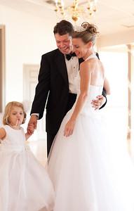 100903 Becky & Todd at their Wedding Reception
