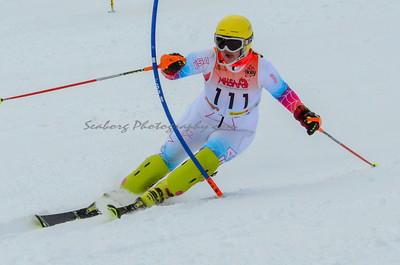 Women Slalom 2nd Run