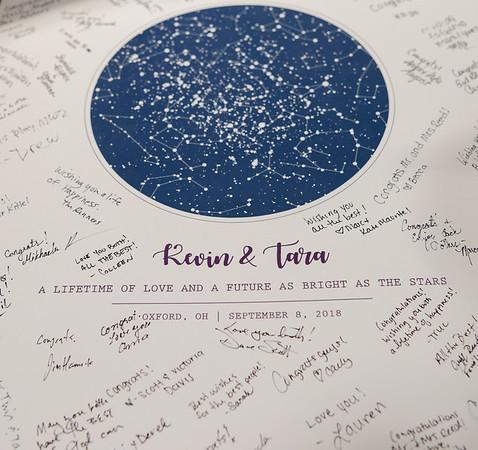 Tara + Kevin // reception