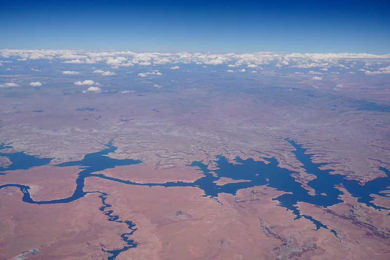 Lake Powell at Utah/Arizona Boarder