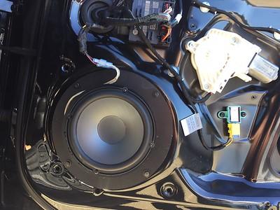 2012 Audi A4 Front Door Speaker Installation - USA