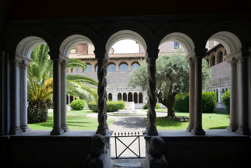 Arches of the Lateran cloister, Rome