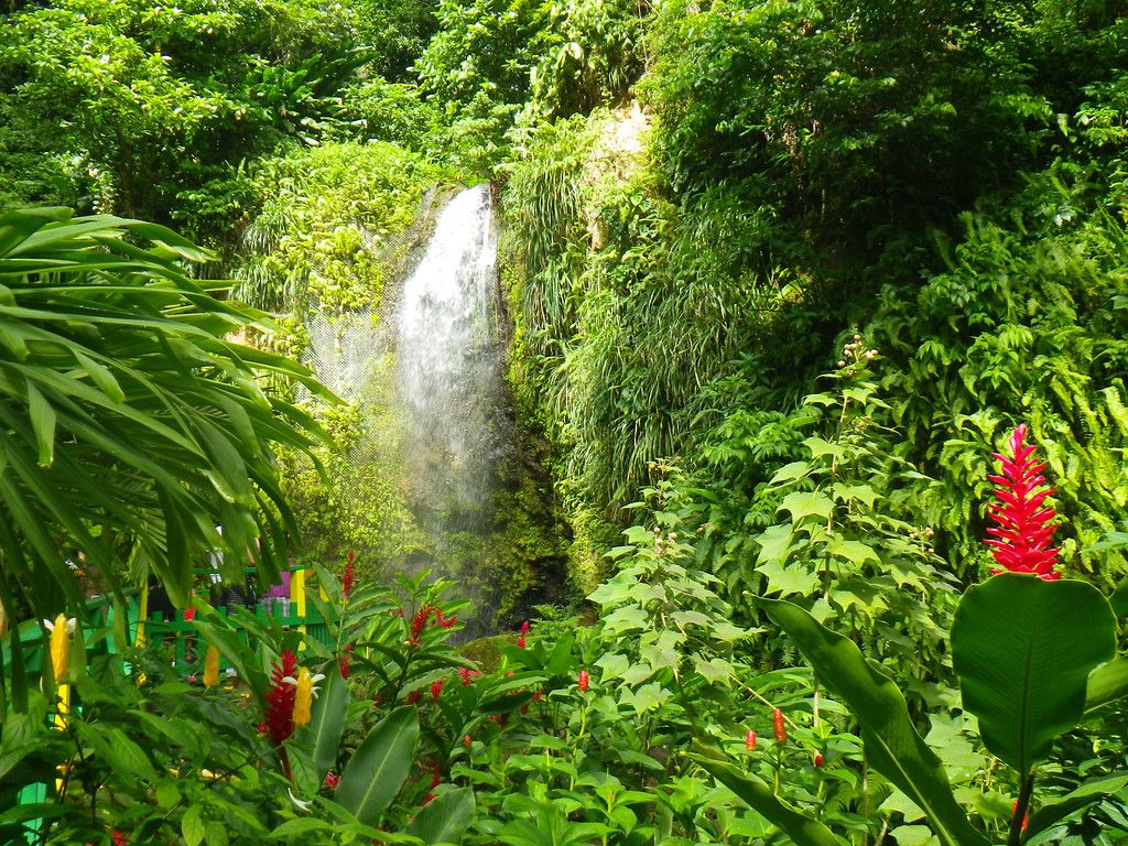 . Janet Podolak/JPodolak@News-Herald.com<p> Several gorgeous waterfalls are an easy walk from St. Lucia roadways and some of them beckon cooling dips.