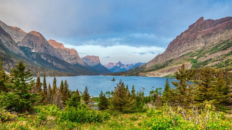 Glacial Lake in Montana