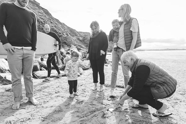 Watergate Bay Family Photoshoot