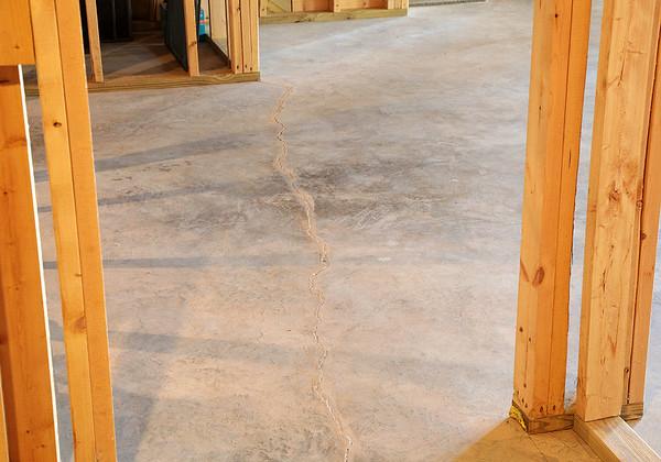 321 Basement Cracks