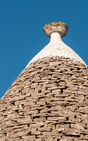 Close-up of Conical Trullo Roof, Alberobello Trulli District, Puglia, Italy