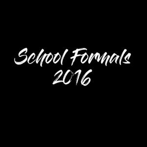 2016 School Formals