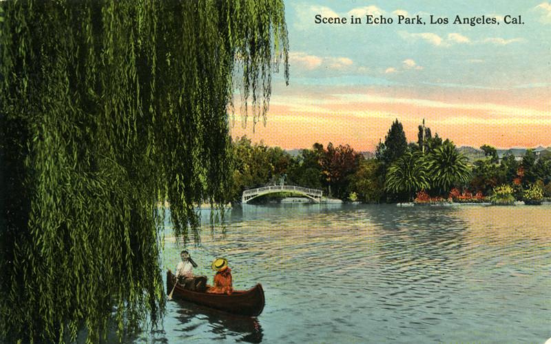 Echo Park Boat Couple