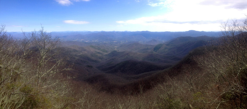 Albert Mountain - 5,280'