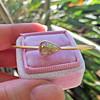 1.91ct Rustic Rose Cut Diamond Bangle in Yellow Gold 4