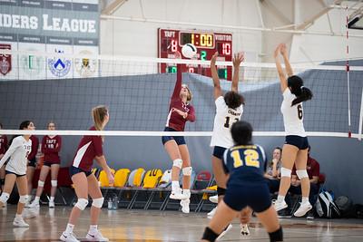 11/6/19: Varsity Volleyball v Choate