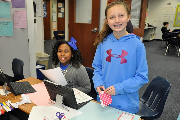 Sixth Graders Send a Lot of Love to The Children's Inn
