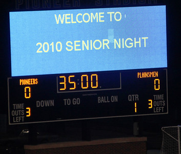 Senior Night Oct. 21 - pics. by Connie Shelton