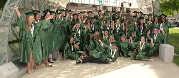 2019 Excel Center graduation