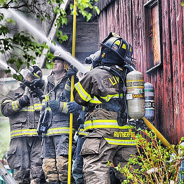 Jack Hale/ East Avon Fire Department Firefighters from Conesus, Livonia, Hemlock, Lakeville, East Avon, Honoye Falls, Geneseo and Caledonia all responded to the scene.