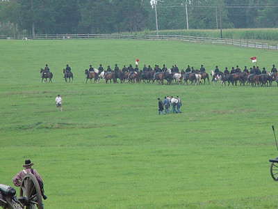 First Manassas Calvary Action