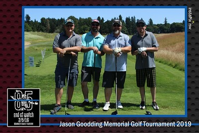 Jason Goodding Memorial Golf Tournament 2019