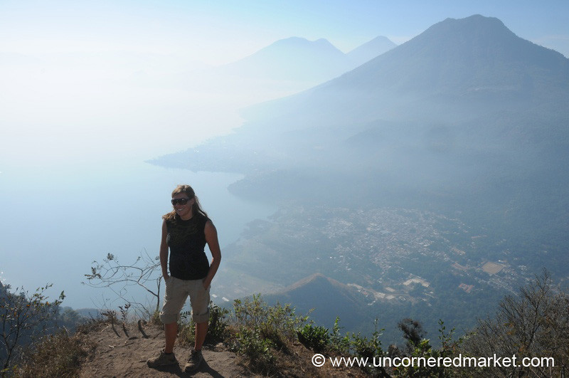 Lake Atitlan, Volcano and Lake - Guatemala