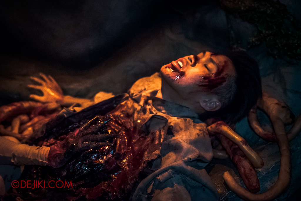 Halloween Horror Nights 6 Final Weekend - Hu Li's Inn revisited / Victim E