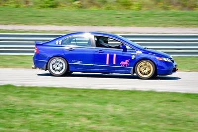 2021 SCCA Time Trials Blue Cars