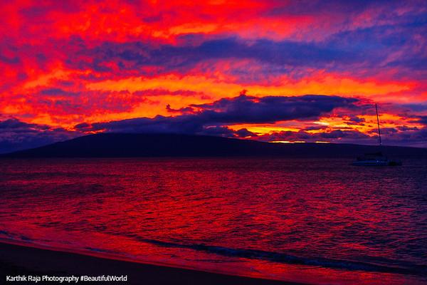 Oahu, Maui, Hawaii