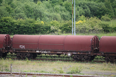 BRA - Bogie Covered Steel Slab Carrier