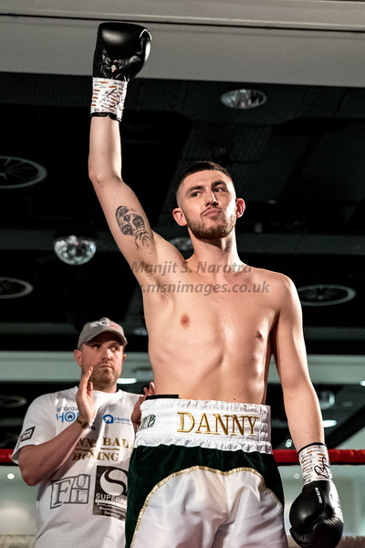 Midlands Area Welterweight Title - Danny Ball vs Kaisee Benjamin