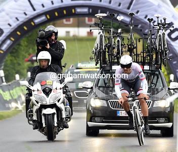 Tour de Suisse Stage 1:  Baar > Baar (Prologue), 6.4kms