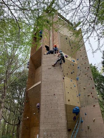 2020 Climbing Wall Upgrade