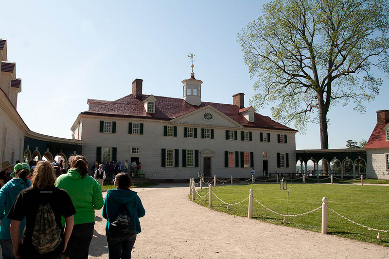 Mt. Vernon - Front entry and drive