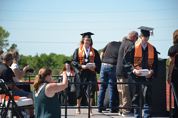Humboldt High School 2020 senior commencement
