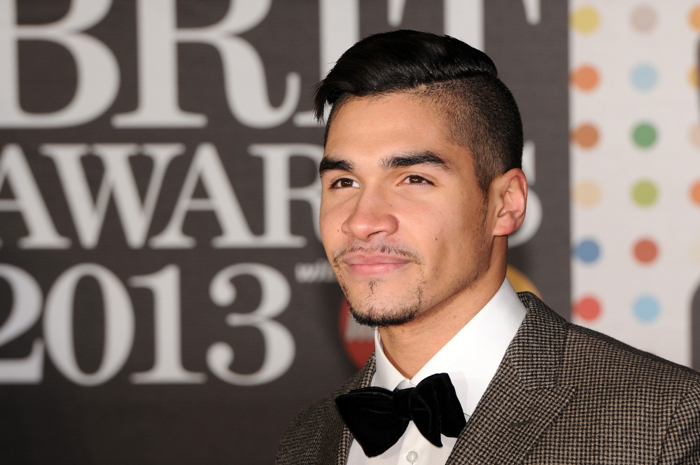 Description of . Louis Smith attends the Brit Awards 2013 at the 02 Arena on February 20, 2013 in London, England.  (Photo by Eamonn McCormack/Getty Images)