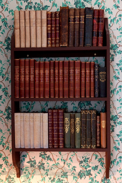 Bookshelf at Audley End