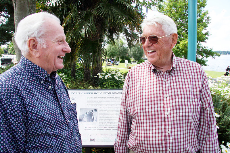 Bob Neir and Al Locke at the sign.jpg