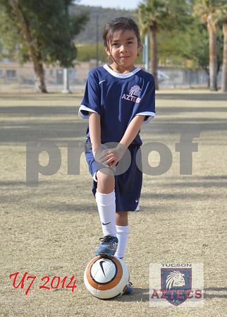 2014 Tucson Aztecs FC U7 Pacho