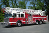 Charlotte, North Carolina - Ladder 40: 2010 Spartan/Smeal 2000/500/105'