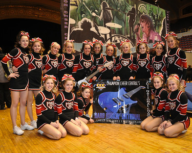 CHS Comp Cheerleading at CCC Cleveland