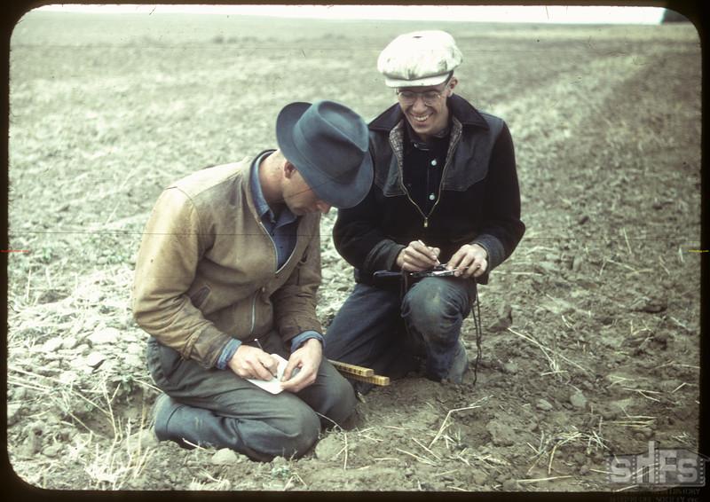 Farm Machine Field Day - problems in math.  Shaunavon.  05/24/1949